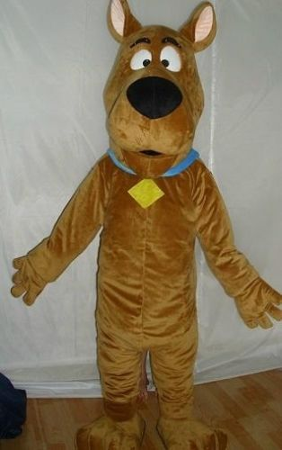Best Sell Lovely Scooby Doo Adult Mascot Costume Fancy Dress On