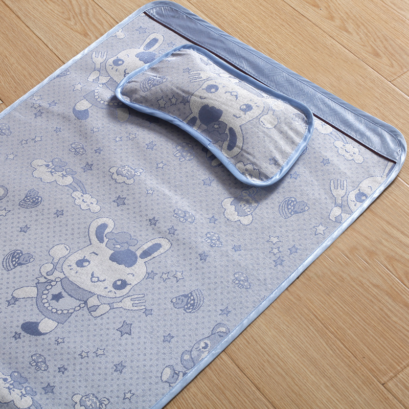 ФОТО Baby Bamboo Pad Resuable Baby Diapers Mattress 2016 Newborns Summer Cool Baby Sleeping Sheet Soft Baby Bedding Sets