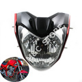 Red/Black/Silver High Quality Motorcycle Headlight Universal With Bulb And Bracket Used For Y.M.H FZ16,Headlamp