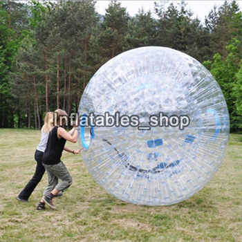 Free Shipping Giant Transparent Adult Inflatable Zorb Ball / Body Zorb Ball For Outdoor Grass Game 2.5m Diameter - DISCOUNT ITEM  0% OFF All Category