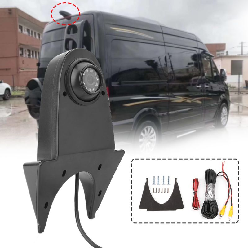 New 1 Set Auto Car Rear View Reverse Camera For Mercedes Benz Viano Sprinter Vito 170 Degree Vehicle Backup Camera Waterproof