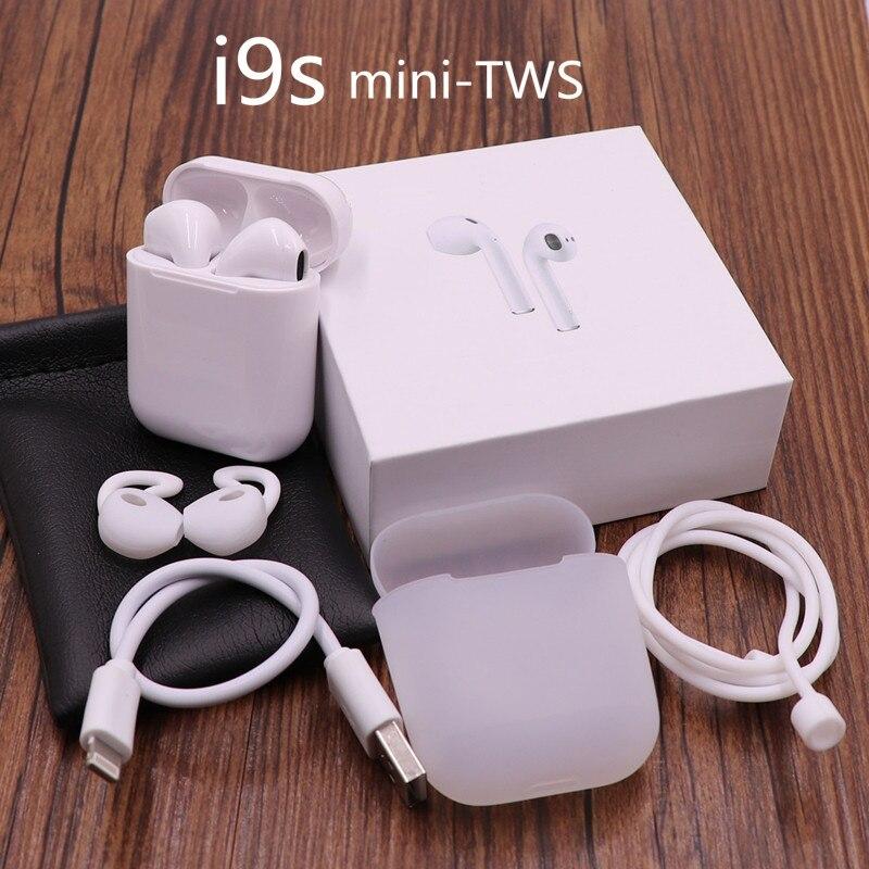 Nuevo i9s aire vainas TWS inalámbrica mini auriculares Bluetooth inalámbrico Auriculares auriculares para apple android Iphone