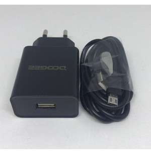 Original New Doogee BL5000 S60 AC Adaptor Fast Charger 3.0 Original Travel Charger EU Plug Adapter +USB Cable DC 5V 7V 9V 2A(China)