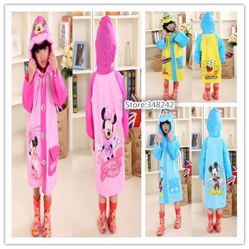 Fine 1pc Cartoon Childrens Raincoat Kids Waterproof Rain Coat Animal Style Poncho Student Rainwear Cute Rainsuit Home