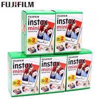 Оригинальный 100 Лист Fuji Fujifilm Instax Mini 8 белая пленка мгновенная фотобумага для 7s 8 9 90 25 55 Share SP-1 SP-2 фотокамера моментальной печати