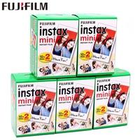 Original 100 Sheet Fuji Fujifilm Instax Mini 8 White Film Instant Photo Paper For 7s 8 9 90 25 55 Share SP 1 SP 2 Instant Camera
