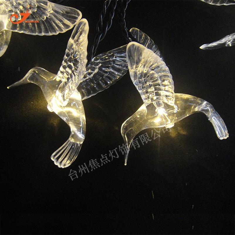 10 Led Animal Bird Spring Fairy String Light Patio