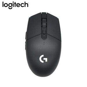 Image 4 - Ban Đầu Logitech G304 Chơi Game Không Dây 2.4G Anh Hùng Động Cơ Chuột 5AA Pin 12000 Dpi Cho LOL Pubg Fortnite Overwatch CSGO