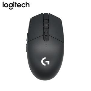 Image 4 - מקורי Logitech G304 משחקי 2.4G אלחוטי גיבור מנוע עכבר 5AA סוללה 12000DPI עבור LOL PUBG Fortnite Overwatch CSGO