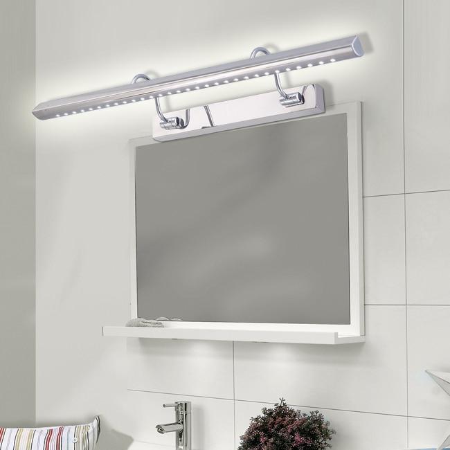 Luces Para Espejos De Baño | Espejo Led De Luz Modernos Minimalista Higienico Bano De Acero