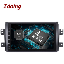Idoing 1Din 9″ 4GB+32GB For Suzuki sx4 Android 8.0/7.1 Steering-Wheel Octa Core Car GPS Player Navigation Fast Boot 4G NO DVD