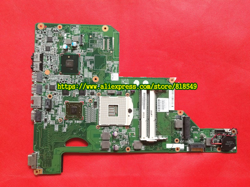 Laptop motherboard fit for HP G62 Notebook PC main board 615381-001 615382-001 DDR3 HM55 100% TESTED 613294 001 notebook pc motherboard for hp probook 6450b 6550b main board system board hm57 hd ddr3