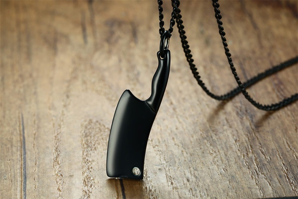Chef Knife Necklace