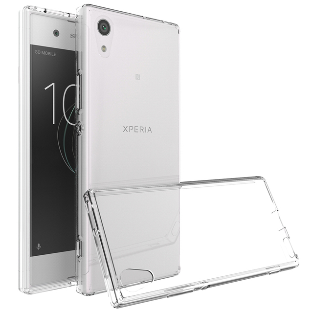 cheaper 050b9 02339 US $2.76 5% OFF|Transparent Clear Phone Case For Sony XA1 Case Coque Sony  Xperia XA1 Cases Silicon Hybrid Plastic TPU for Xperia XA1 Back Cover-in ...