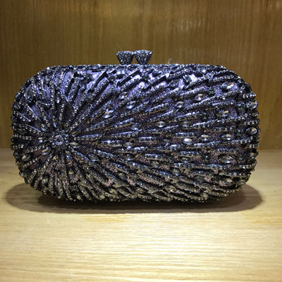 double Diamonds Luxurious Women Evening Bags graduation party small green Day Clutches Chain Shoulder Evening Bag For Wedding aequeen women chain small evening bags shinning crossbody handbags wedding party bags day clutches round design shoulder bag