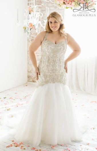 Plus size wedding dresses mermaid style for Plus size mermaid style wedding dresses