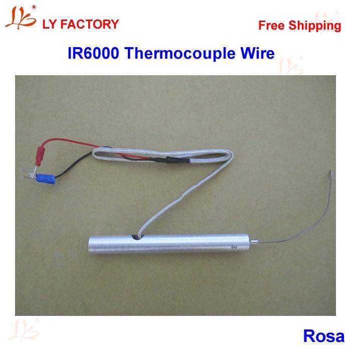 Thermocouple Wire Infrared Temperature Sensor with Sensor For IR6000 BGA Rework Station 0 1300 cetigrade industrial thermocouple k type temperature sensor 0 1300c temperature probe