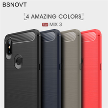 For Xiaomi Mi Mix 3 Case Soft TPU Silicone Shockproof Anti-knock Phone MIx Cover 6.39