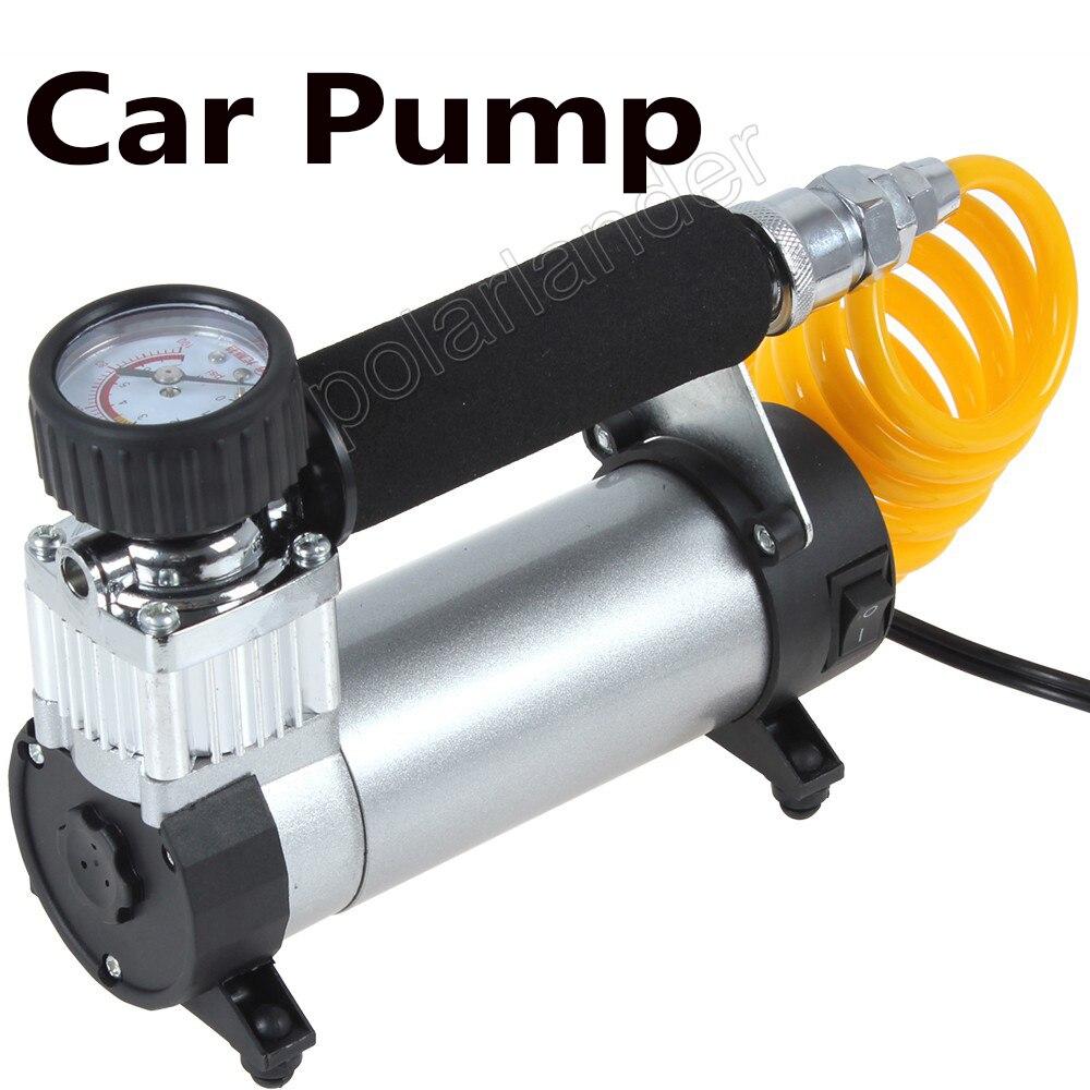 Pompe de voiture de haute qualité Super débit 100PSI 12 V gonfleur de pneu compresseur d'air Auto Portable