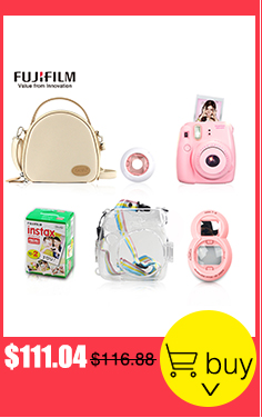 Fujifilm Fuji Instax Mini eight Prompt Movie Photograph Digicam + Mini eight Bag + Lens + 20 Sheets Movie + 36 Pockets Photograph Case Free Transport HTB16qmfRVXXXXXvXpXXq6xXFXXXm