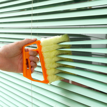 1pc Window Cleaning Brush Washable Kitchen Accessories Blinds Duster Air Conditioner shutters Dust Collector
