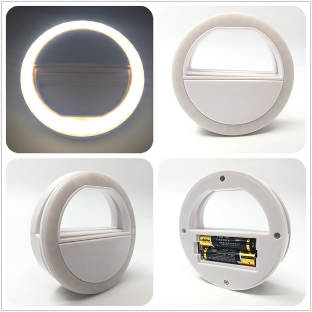 Universal LED Photography Flash Ring Selfie Light for Photo Luminous annular Lamp Night Smartphone LED Ring For xiaomi Phone