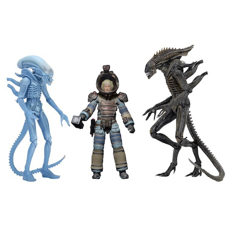 Alien Figure Lambert In Space Suit Warrior Alie Vicious Alien Attcaker Xenomorph Action Figure Toy 15cm