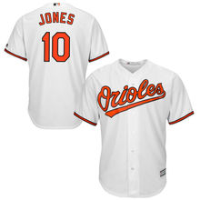 a540f86e8 MLB Baltimore Orioles Adam Jones Majestic Black Orange Alternate White Home  Cool Base Player Men s Baseball
