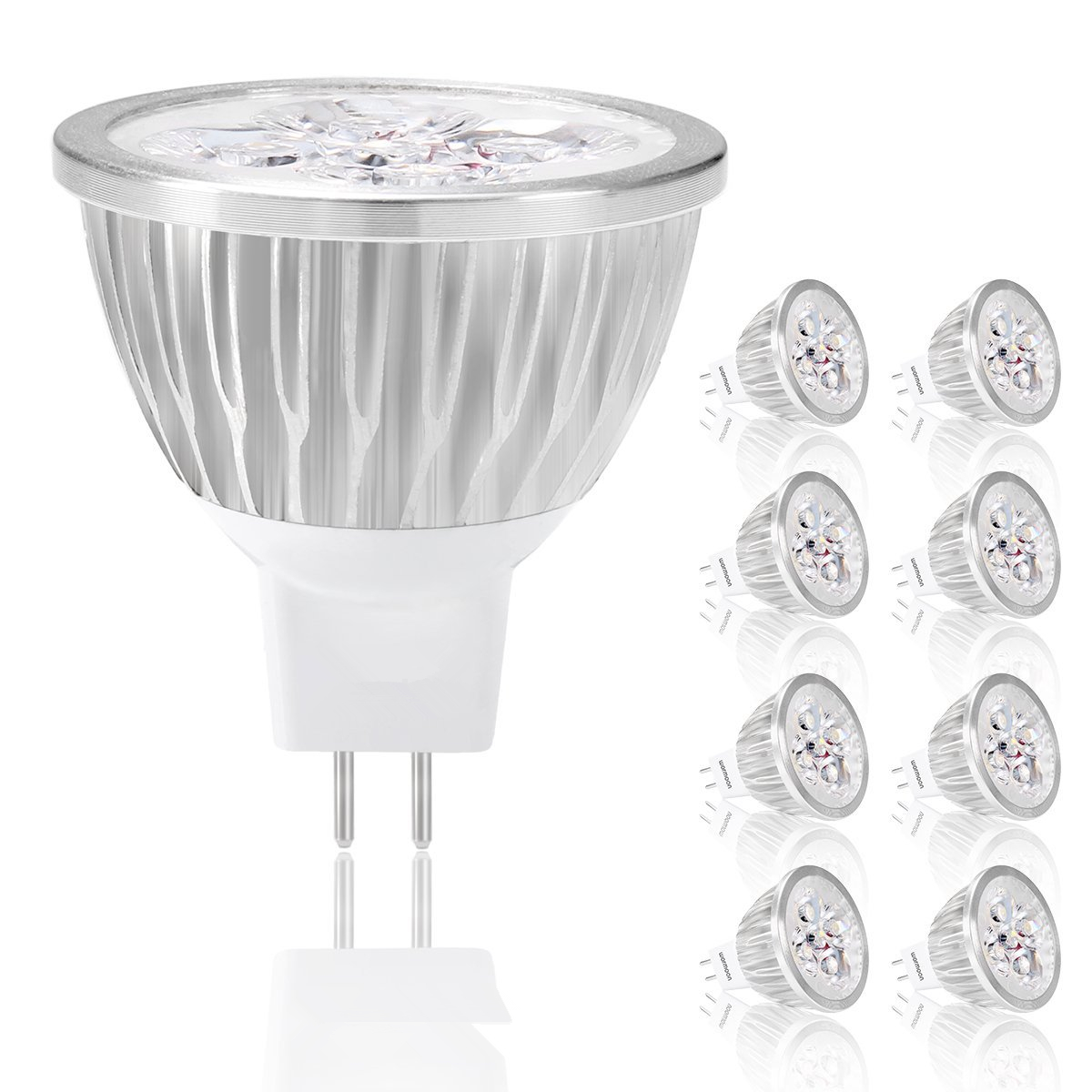 Wholesale LED BULB mr16 Super Brightness 5W 4W 3W 12V MR16 LED Spotlight Warm Cool White New Style LED Light LED Bulb