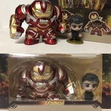 Avengers 3 Infinity War Superalloy Iron Man MK44 Mini Action Figure Hulkbuster Ironman figura EO05