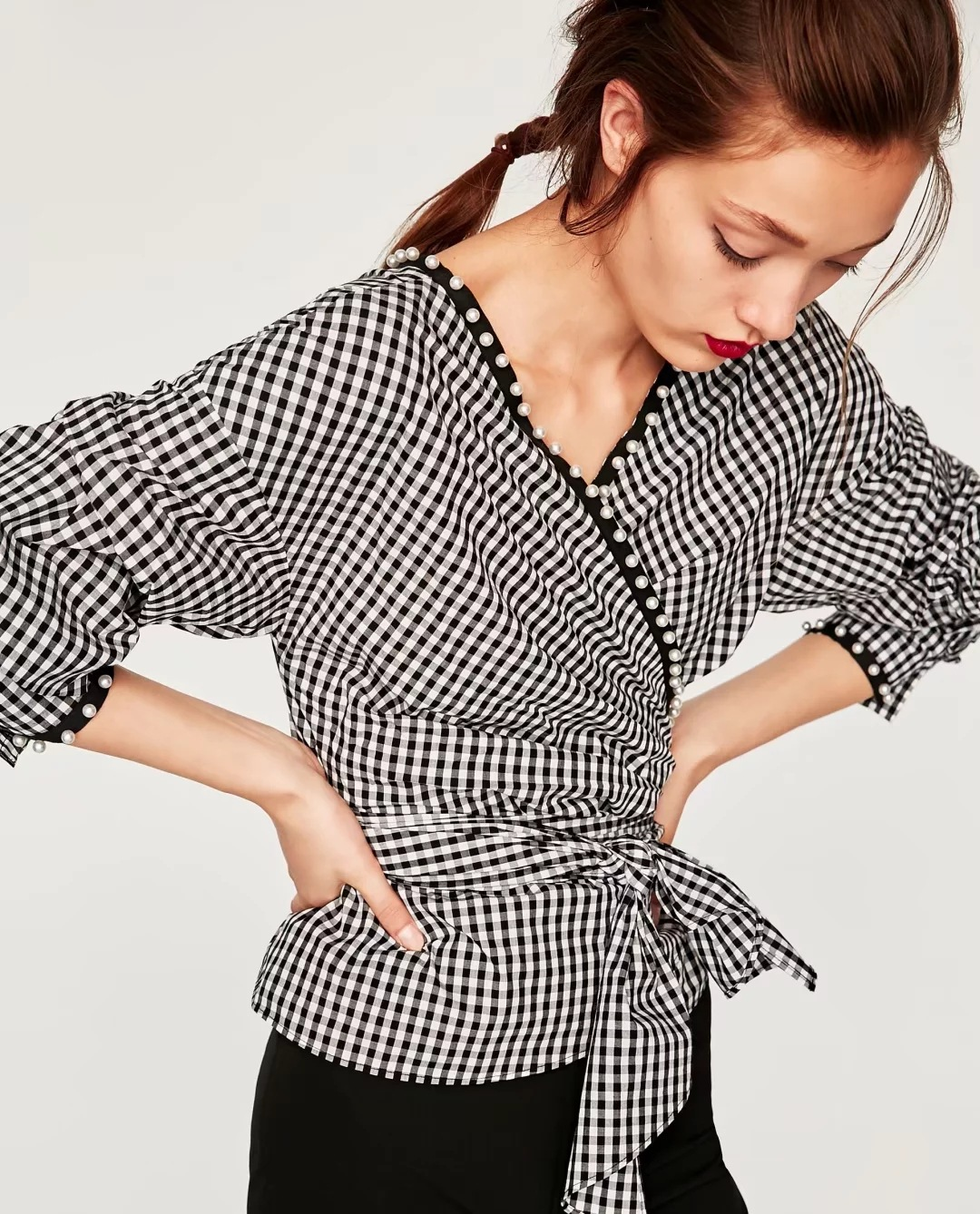 Women Checkered Shirt