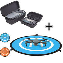 DJI Mavic Pro Drone and Transmitter Travel Box Suits + landing pad Size 75cm Quadcopter launch pad, Helicopter Mini helipad