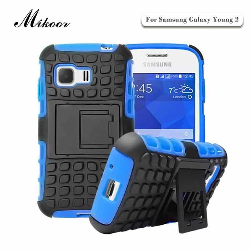 Mikoor Armor Shockproof Protection 3.5For Samsung Galaxy Young 2 Case For Samsung Galaxy Young 2 G130 G130H Phone Case Cover  samsung young 2 | Samsung Young 2 Mikoor Armor Shockproof Protection 3 5For font b Samsung b font Galaxy font b Young b