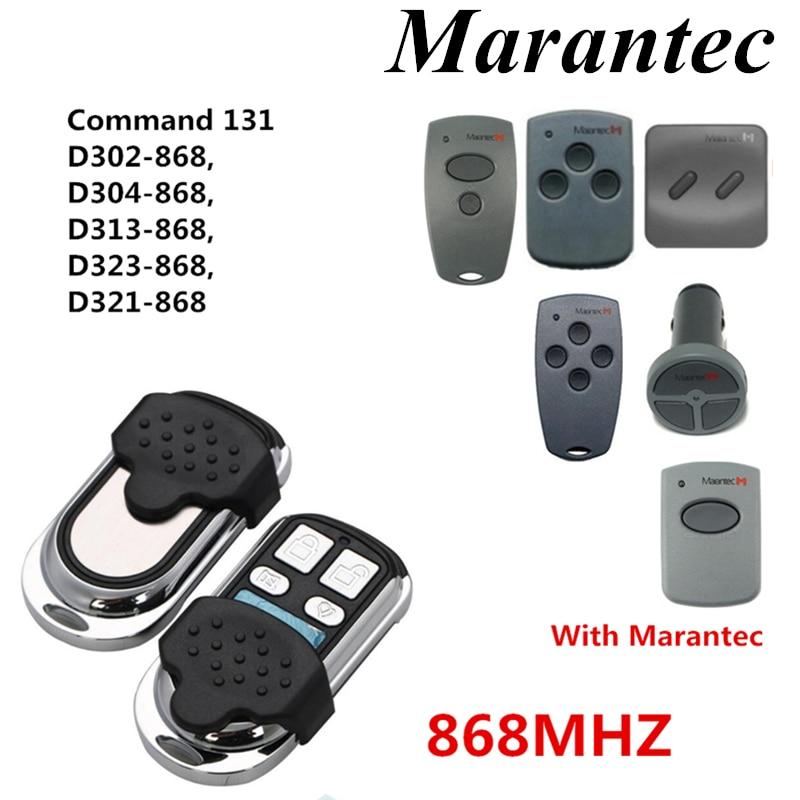 Martin Marantec Garage Door Opener Remote Control