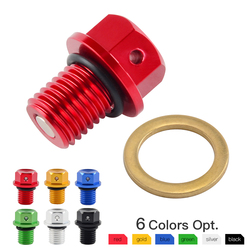 M12xP1.5 CNC Oil Drain Plug Bolt For Honda CBR600RR CBR900RR CBR954RR CBR1000RR CB1000R VTR1000 NC700 NC750 400X CB400F CBR400R