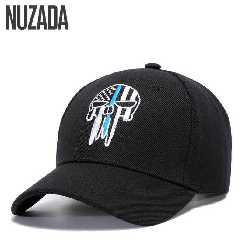 все цены на Brand NUZADA Embroidery Pattern Men Women Couple Baseball Cap Hats Bone Snapback Street Fashion Cool Spring Summer Autumn Caps онлайн