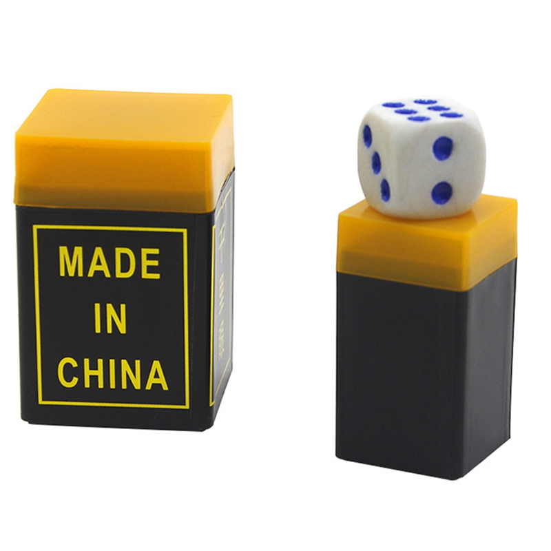 Talking Dice Thousana Mileeye Listen Dice Box-magic Props Magic Tricks 4cm*3cm Telescope Binoculars Easy Magic Toys For Children Price Remains Stable Magic Tricks