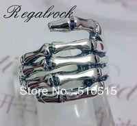 Regalrock Skull Bone Skeleton Ring