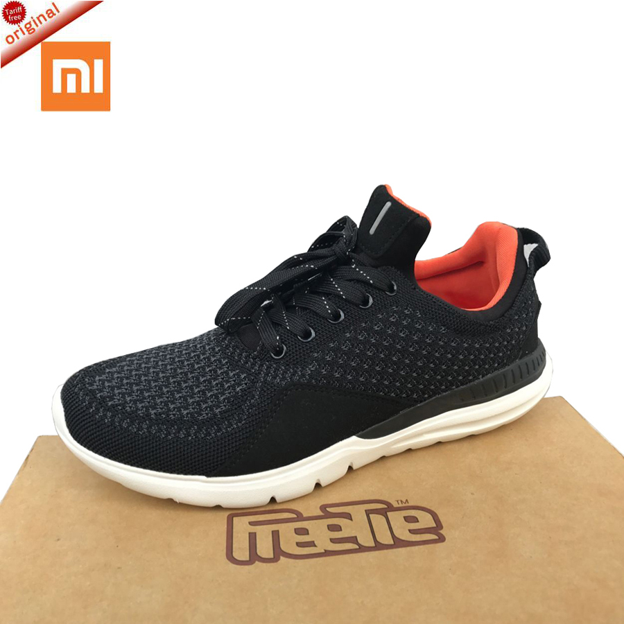 2017 Original xiaomi <font><b>shoes</b></font> Freetie Bluetooth 4.0 English APP Comfortable Upper And Durable Sole Running xiaomi smart sneakers