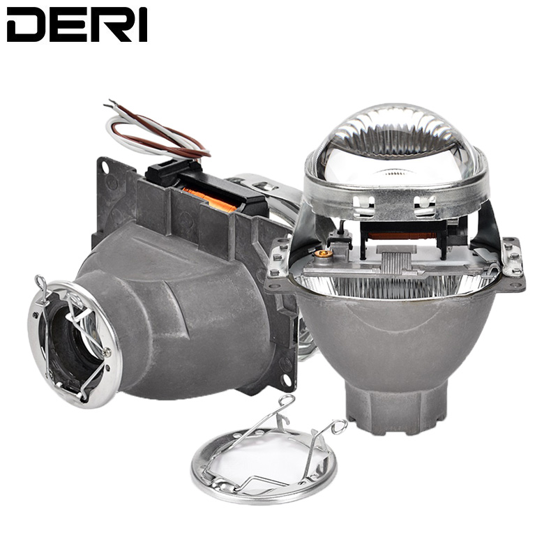 3 0 inch Q5 H7 HID Xenon LED Headlight Bi Xenon Full Metal Projector Lens For
