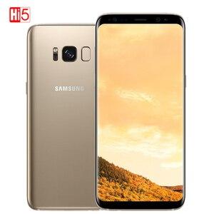 "Image 5 - סמארטפון מקורי Samsung Galaxy S8 בתוספת SM G955U 4GB RAM 64GB ROM אוקטה Core 6.2 ""תצוגת אנדרואיד טביעות אצבע smartphone"