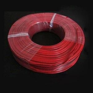 Image 2 - 5 เมตร 2 สีแดงสีดำทองแดงสายฉนวน PVC ไฟฟ้าสายลำโพงลวด DIY สายเชื่อมต่อทองแดงรถ LED สาย