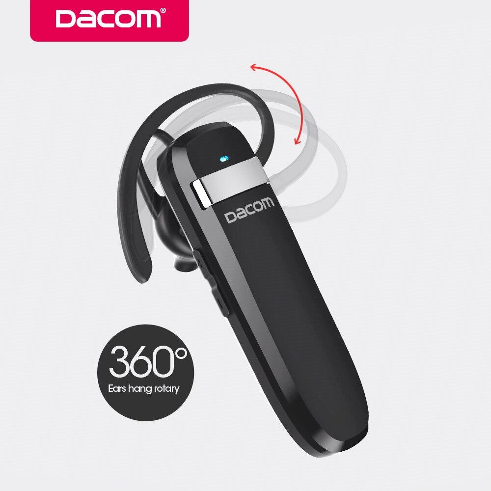 Dacom K2 Bluetooth Earphone Wireless Stereo Headphone Business Headset Handsfree Earpiece With Microphone For IPhone Samsung