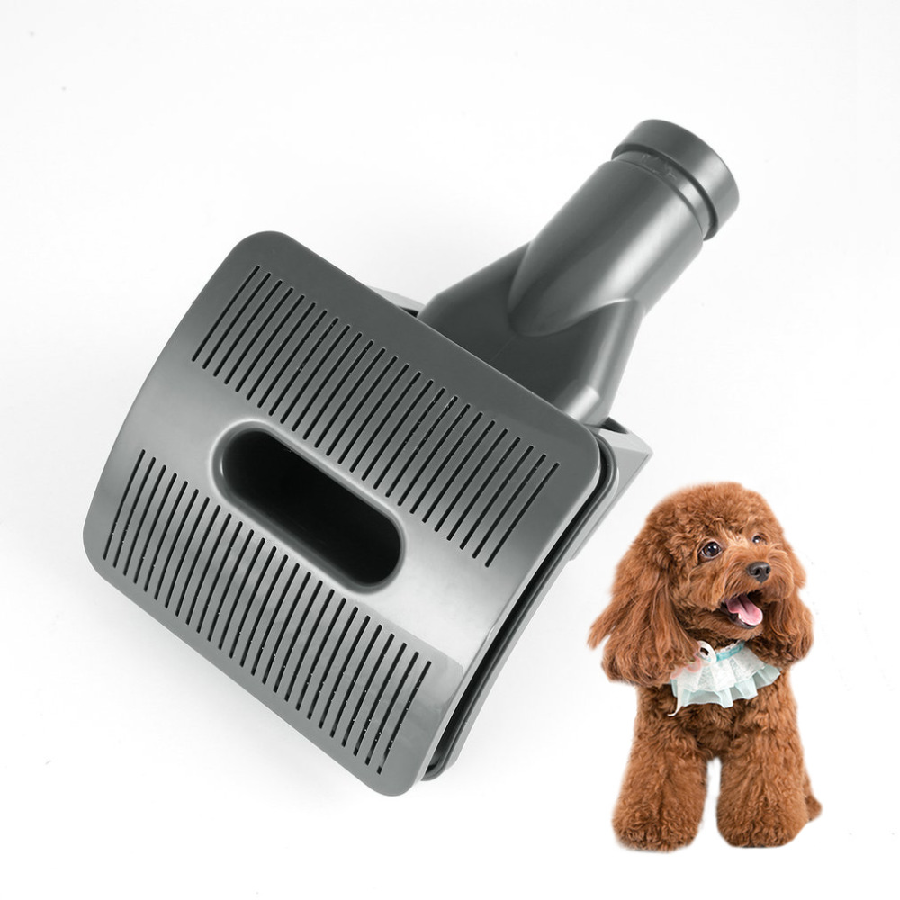 2018 New Modern Dog Pet Groom Tool Brush Hair Fur Animal Groom Grooming Animal Allergy Vacuum Cleaner ABS for Home Improvement e home groom 3040cm холст