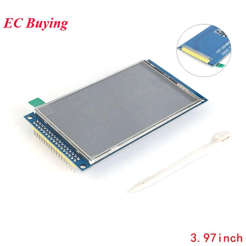 """3.97 pouces TFT LCD 3.97 """"LCD TFT affichage LCD Module écran tactile IPS pleine vue HD 800X480 51 STM32 pilote avec stylo tactile"""