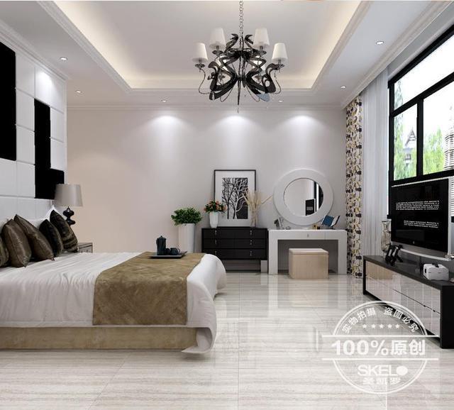 متفوقة المنتج كامل المزجج والبلاط البلاط 800*800 غرفة المعيشة غرف