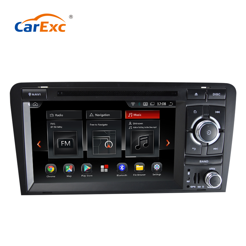 7 Inch Android 9.0/9.0 Car DVD Stereo Player for Audi A3/S3(2003-2013) With TPMS/OBD2/DAB+/GPS/WIFI FM GPS Radio Multimedia screenshot