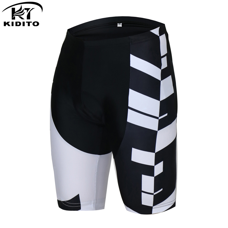 KIDITOKT New Arrival MTB Bicycle Shorts Pro Men Shorts Cycling Coolmax 3D Gel Pad Bike Tights Roupa Ropa De Ciclismo Verano