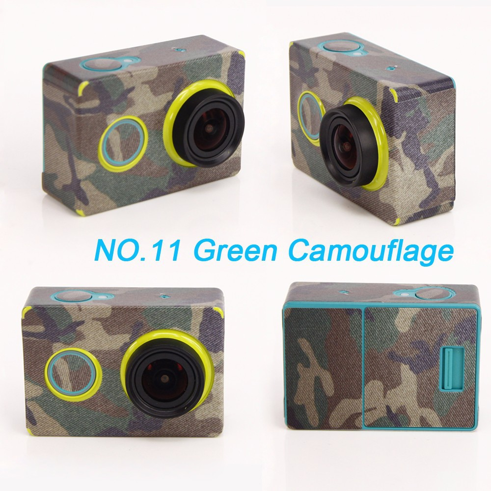 For xiaoyi sport cam skin protector case For xiaomi accessories of stickers yi accessories