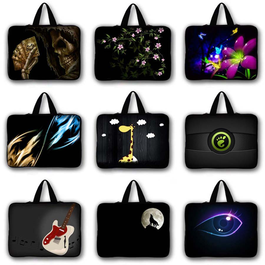 Waterproof lizard print men Laptop Bag Protective case women Notebook Sleeve Computer PC Cover 7 10 12 13 14 15 17 inch LB 5059 in Laptop Bags Cases from Computer Office